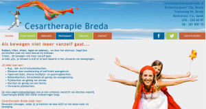 website van Cesartherapie Breda