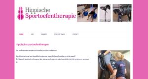 De website van Hippische sportoefentherapie