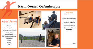 De website van Karin Oomen Oefentherapie
