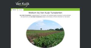 De website van Van Kuijk Tuinplanten